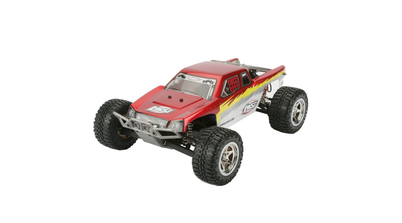 losi 1 18 mini desert rc truck rtr red horizon hobby. Black Bedroom Furniture Sets. Home Design Ideas