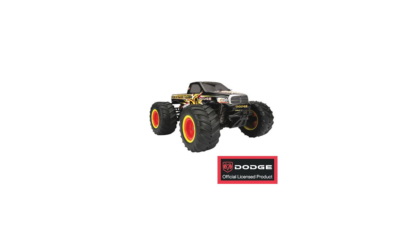Image for 1/18 Rammunition Monster Truck from HorizonHobby