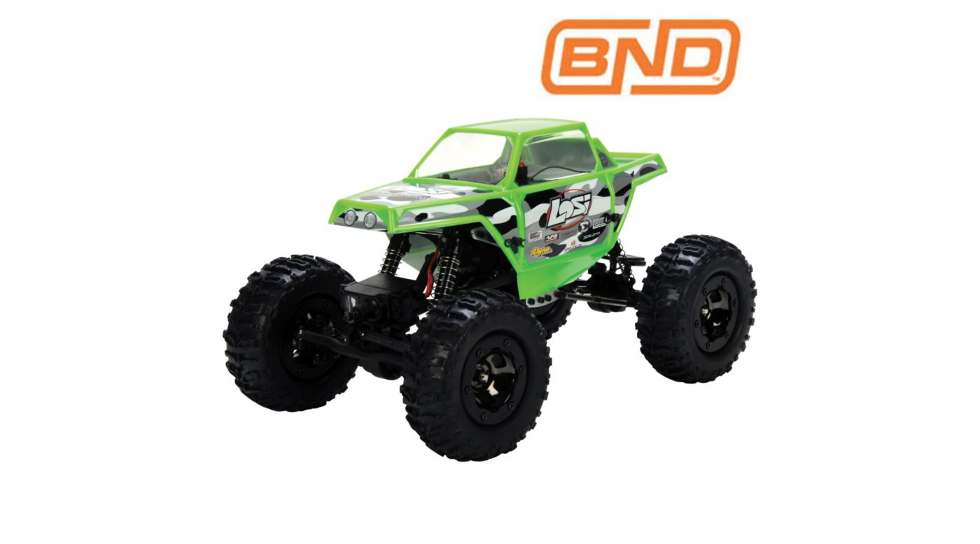 Image for 1/18 Mini-Rock Crawler Bind-N-Drive from HorizonHobby