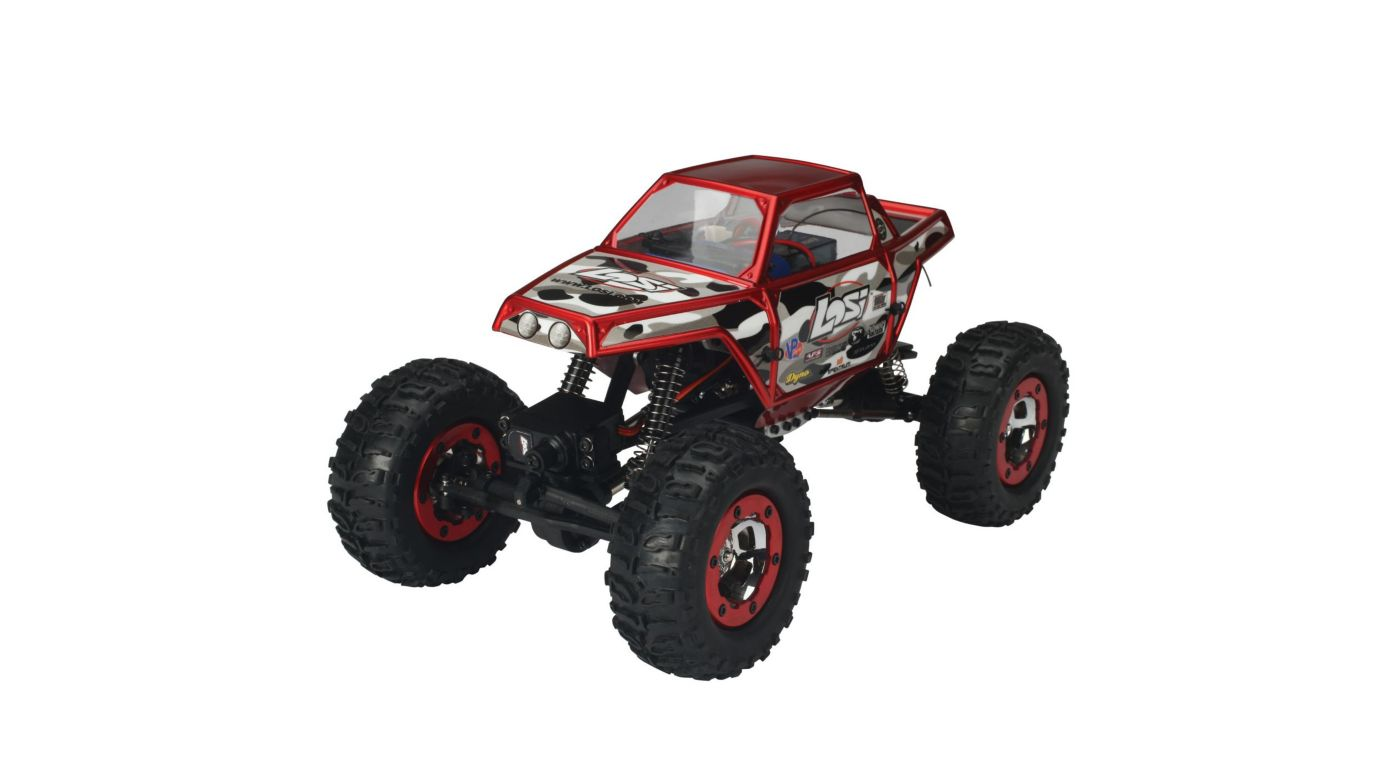 Image for 1/18 Mini-Rock Crawler RTR Red from HorizonHobby