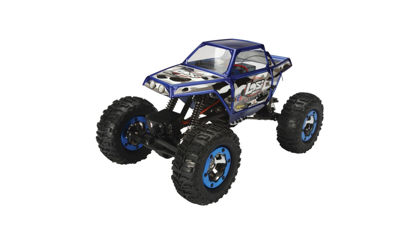 Image for 1/18 Mini-Rock Crawler RTR  Blue from HorizonHobby