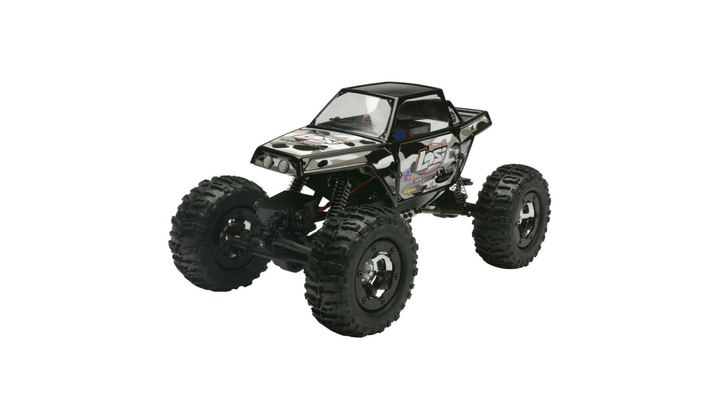 Image for 1/18 Mini-Rock Crawler RTR  Black from HorizonHobby