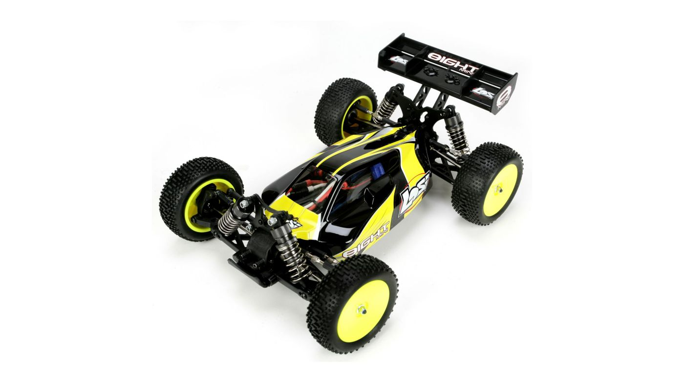 Image for 1/14 Mini 8IGHT RTR: Black from HorizonHobby