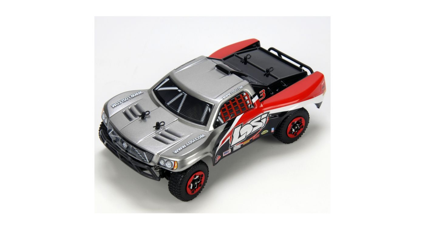 Image for 1/24 4WD Short Course Truck RTR: Grey/Black/Red from HorizonHobby