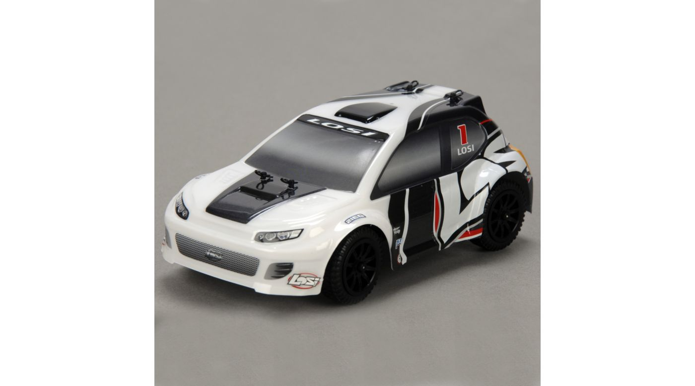 Image for 1/24 4WD Rally Car RTR  Grey/White from HorizonHobby