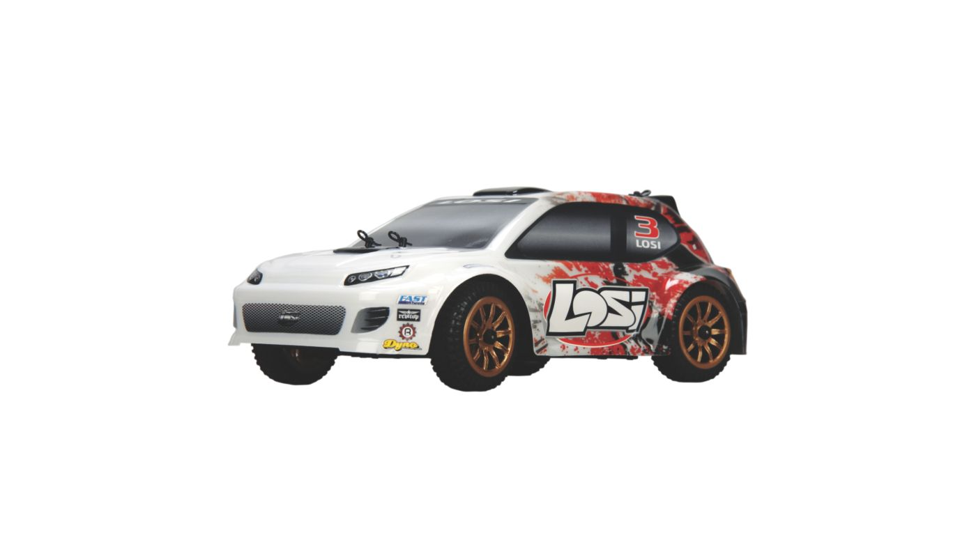 Image for 1/24 4WD Rally Car RTR  Red Spatter from HorizonHobby