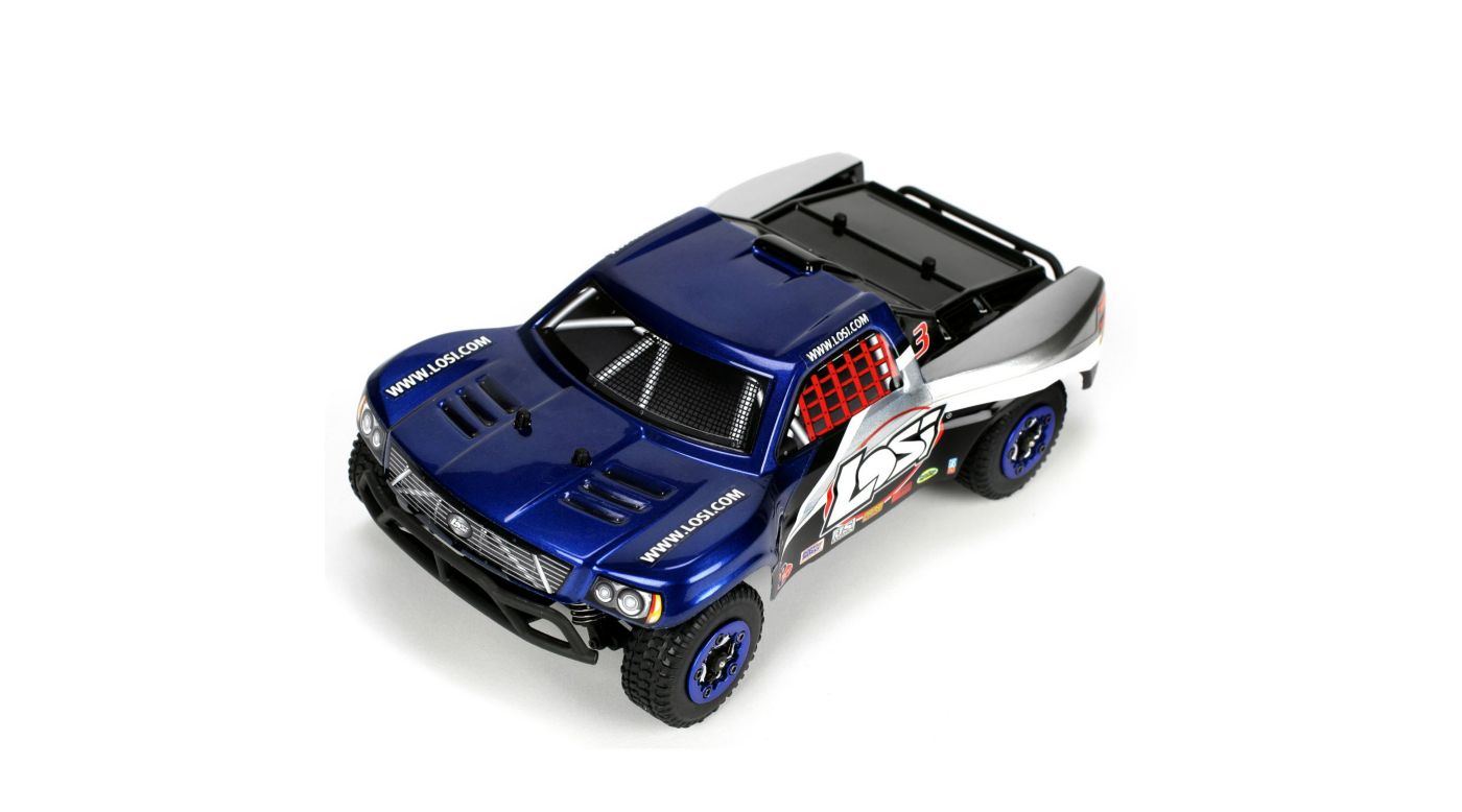 Image for 1/24 Micro Brushless SCT RTR Blue from HorizonHobby
