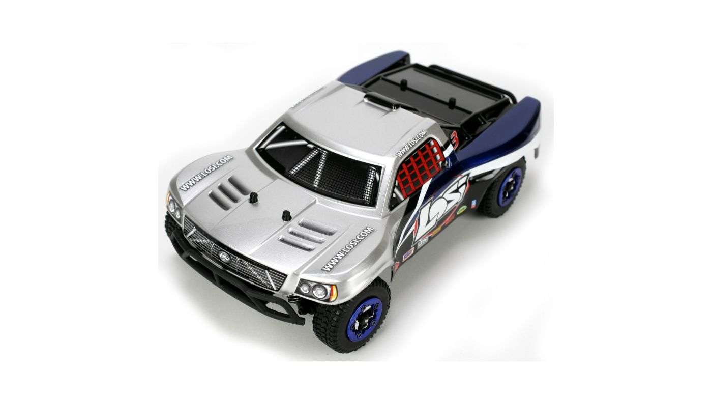 Image for 1/24 Micro Brushless SCT RTR Silver from HorizonHobby