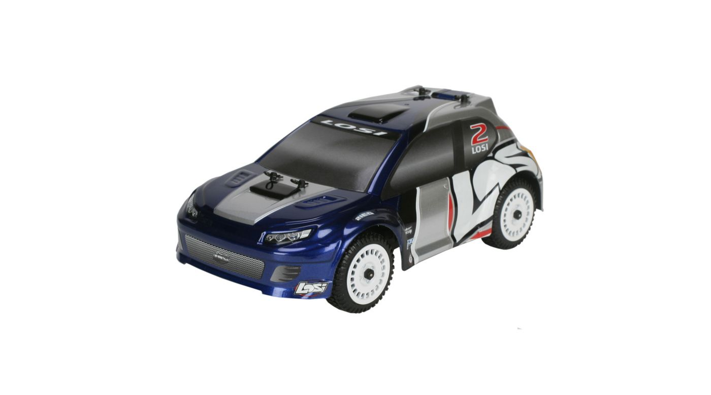 Image for 1/24 Micro Brushless Rally RTR Blue from HorizonHobby