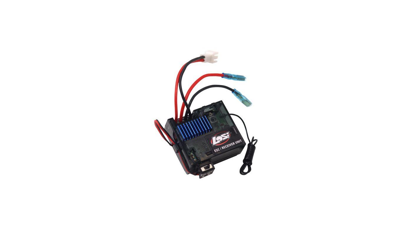 Image for MRX-R14 ESC/Receiver (3-Wire Servo): Mini-DT from HorizonHobby