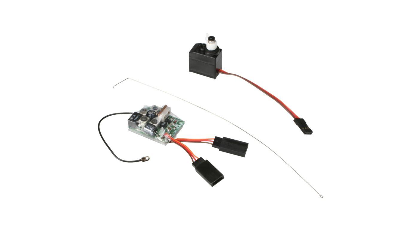 Image for 27MHz AM Receiver 3-Wire Servo Combo: Micro from HorizonHobby
