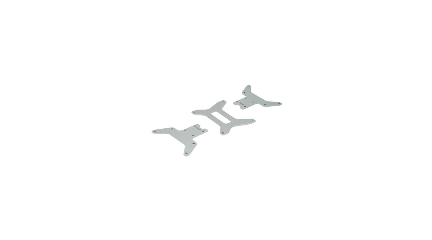 Image for Lower Chassis Plate Set(3): MLST/2 from HorizonHobby