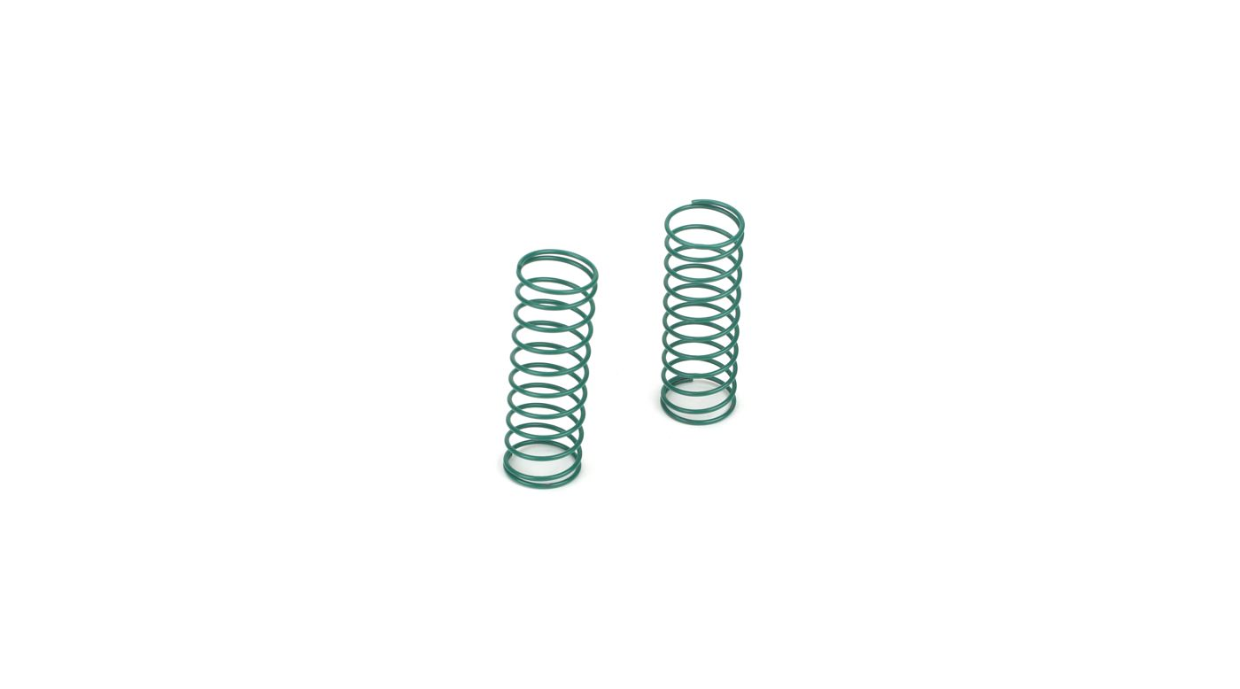 Image for Rear Shock Springs, Green (2): MLST/2 from HorizonHobby