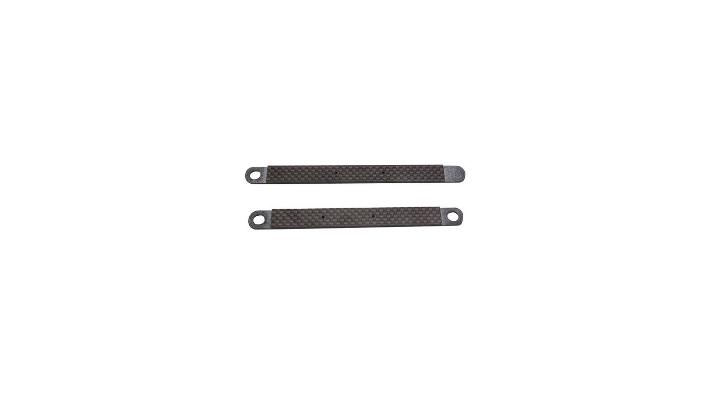Image for Battery Braces, Graphite: MLM from HorizonHobby