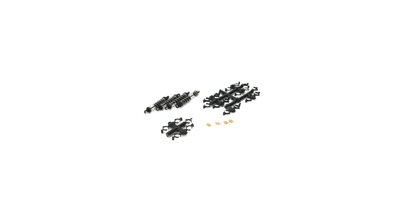 Image for Damper Set, Assembled (4): Mini-T from HorizonHobby