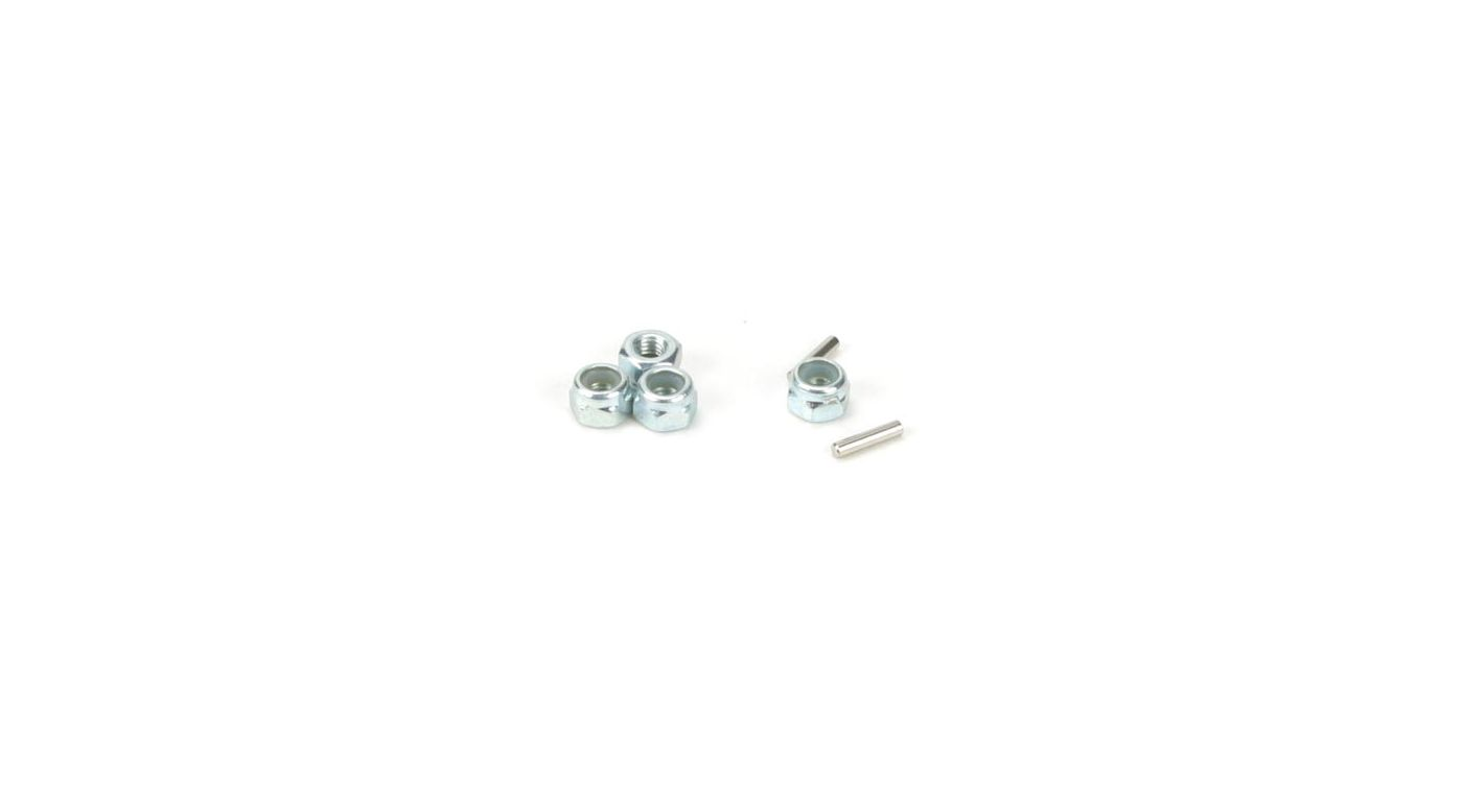 Image for Wheel Nuts & Drive Pins: Mini-T, MDT from HorizonHobby
