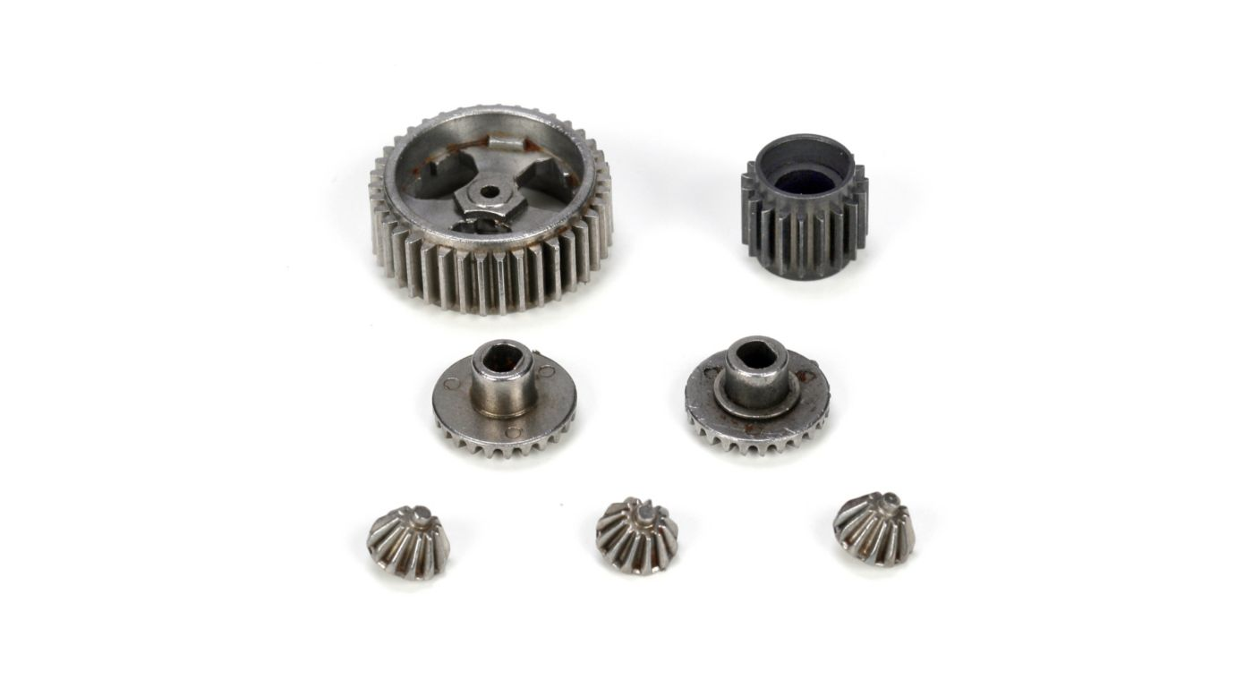 Image for Transmission Gear Bag, Metal: Mini-T from HorizonHobby