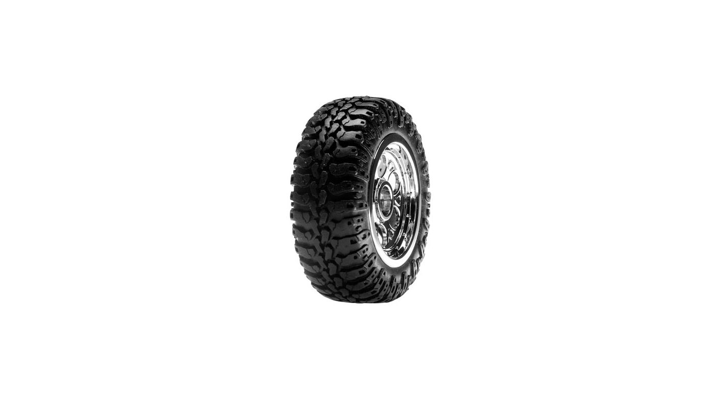Image for Front Wheels & Tires,Mounted (2):Mini Desert Buggy from HorizonHobby