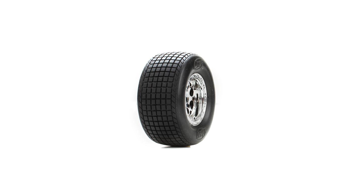 Image for Rear Wheels & Tires, Large Diameter: Mini-S from HorizonHobby