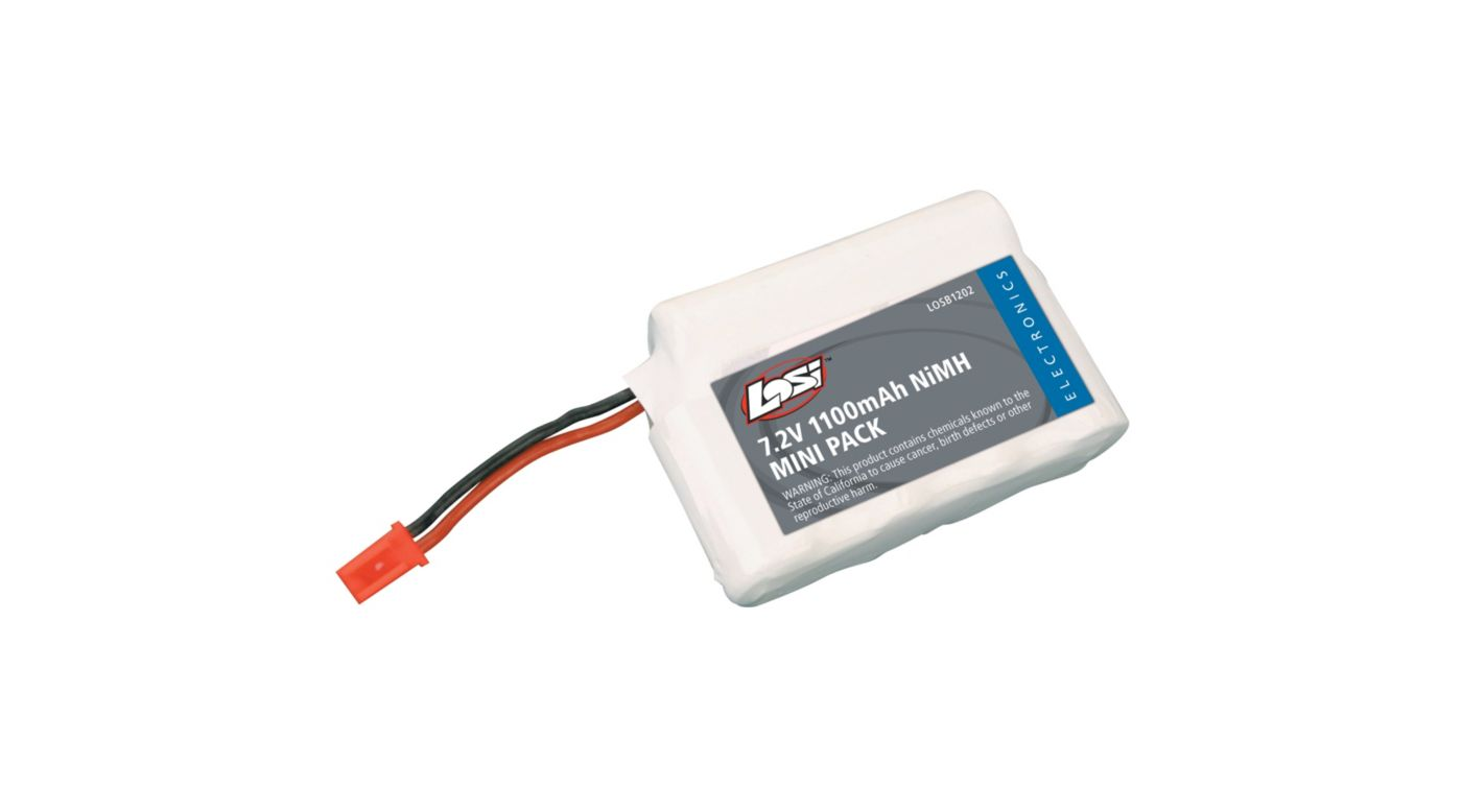 Image for 7.2V 1100mAh NiMH Battery: Mini-T, MLST/2, MRAM from HorizonHobby