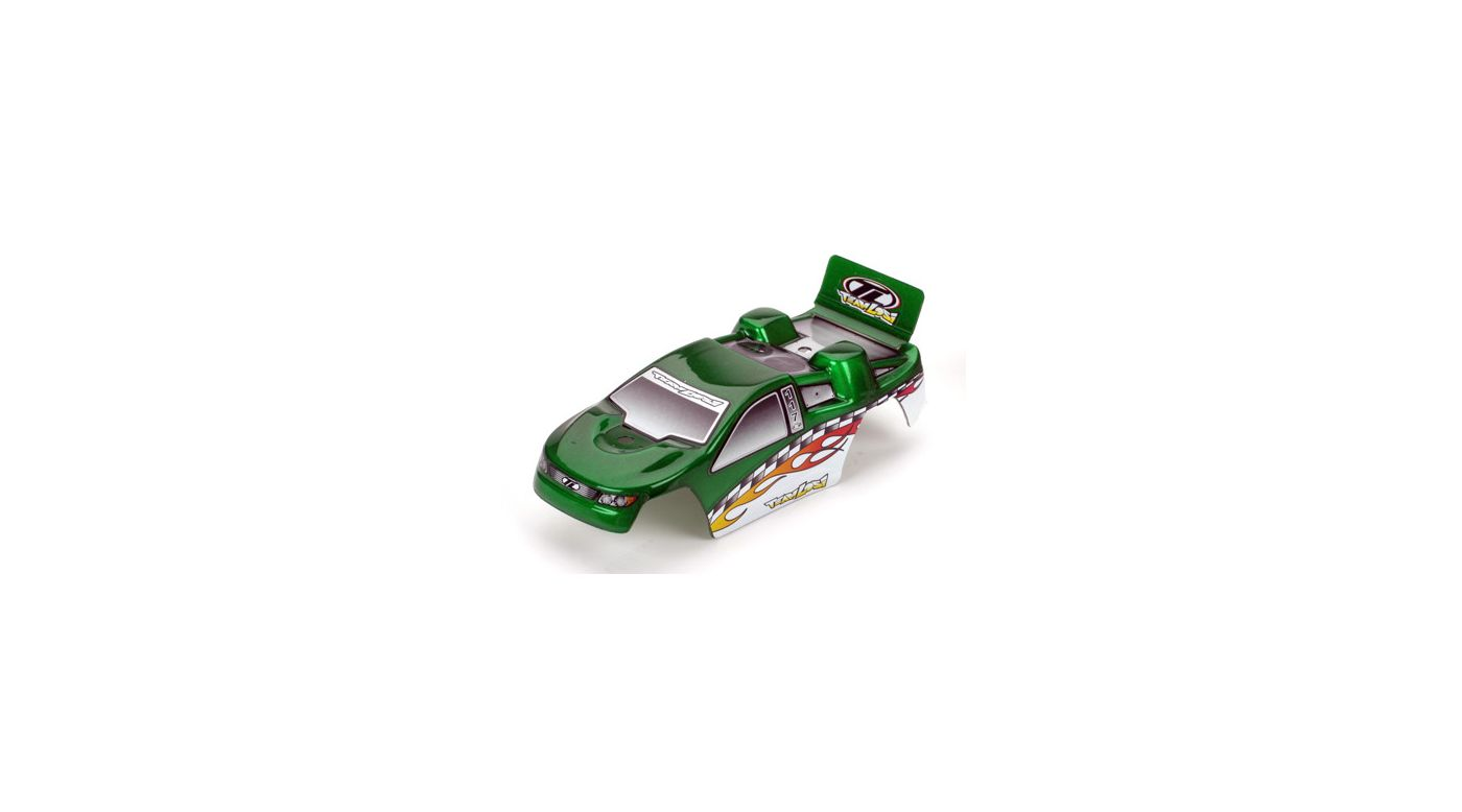 Image for Body, Painted Green with Stickers: Micro-T from HorizonHobby