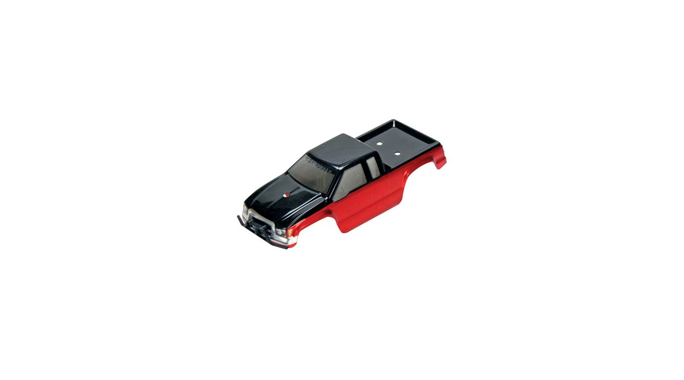 Image for Micro HIGHroller Painted Body, Red with Bumpers from HorizonHobby