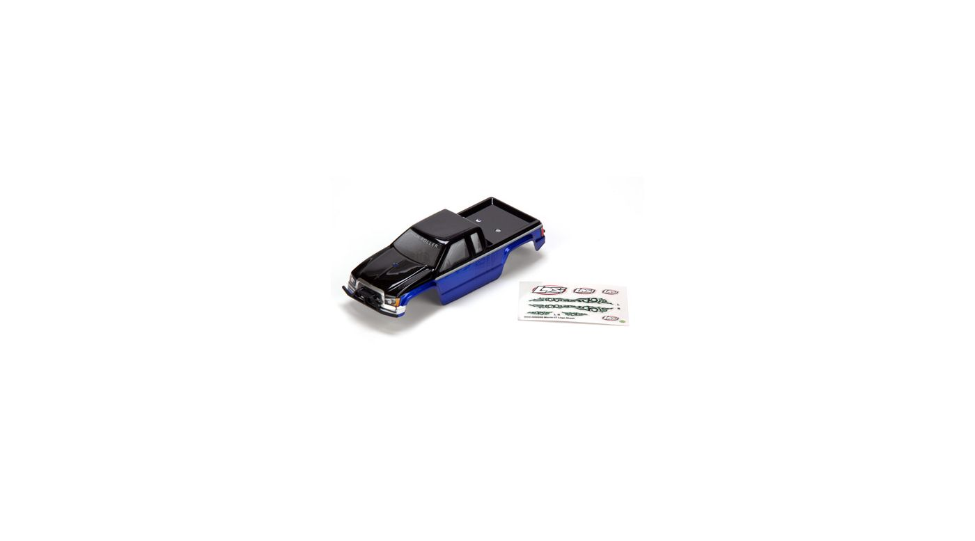 Image for Micro HIGHroller Painted Body, Blue with Bumpers from HorizonHobby