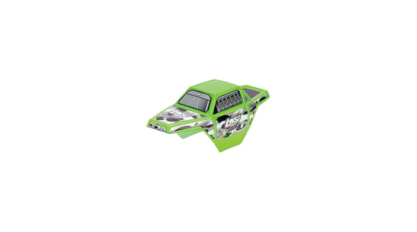 Image for Micro Rock Crawler Painted Body, Electric Green from HorizonHobby