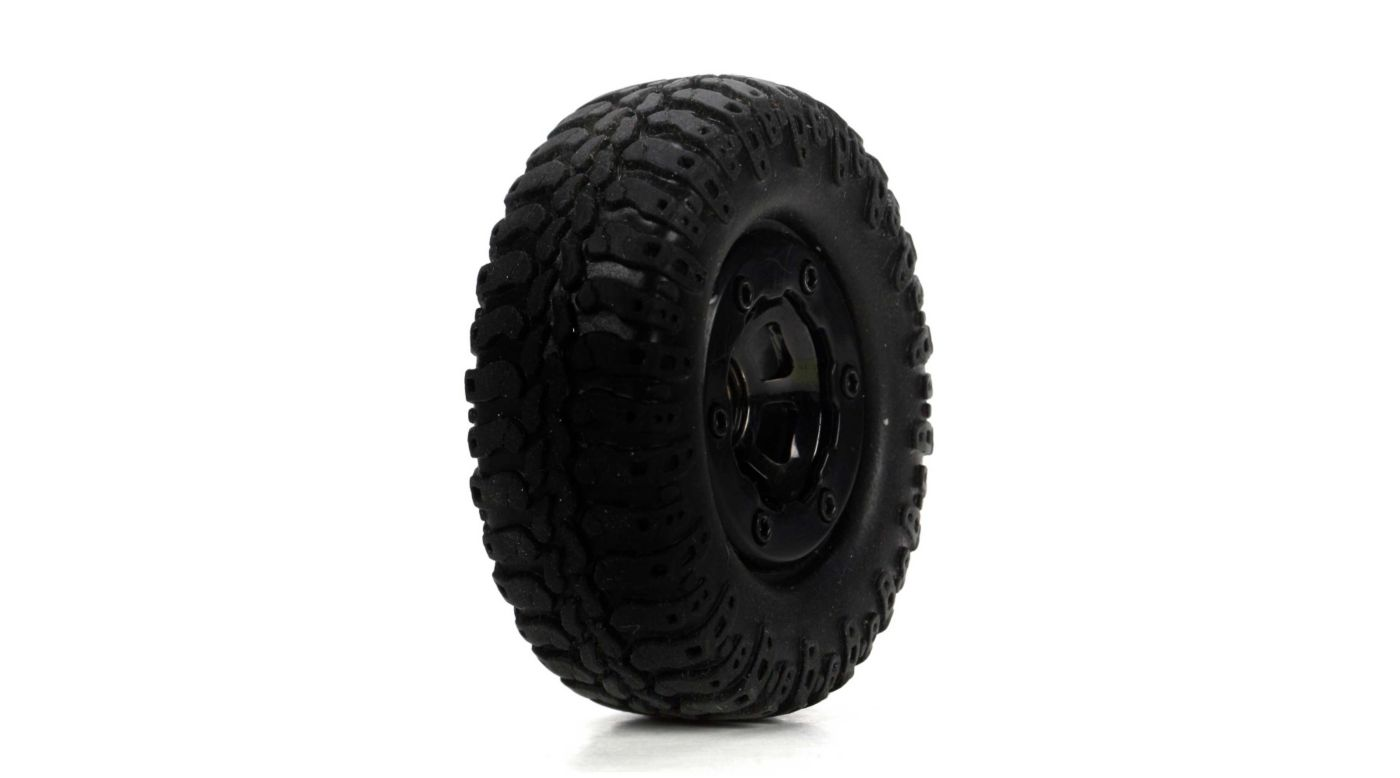 Image for Scale AT Tire & Wheel, Mounted (4) :Mc4x4 from HorizonHobby