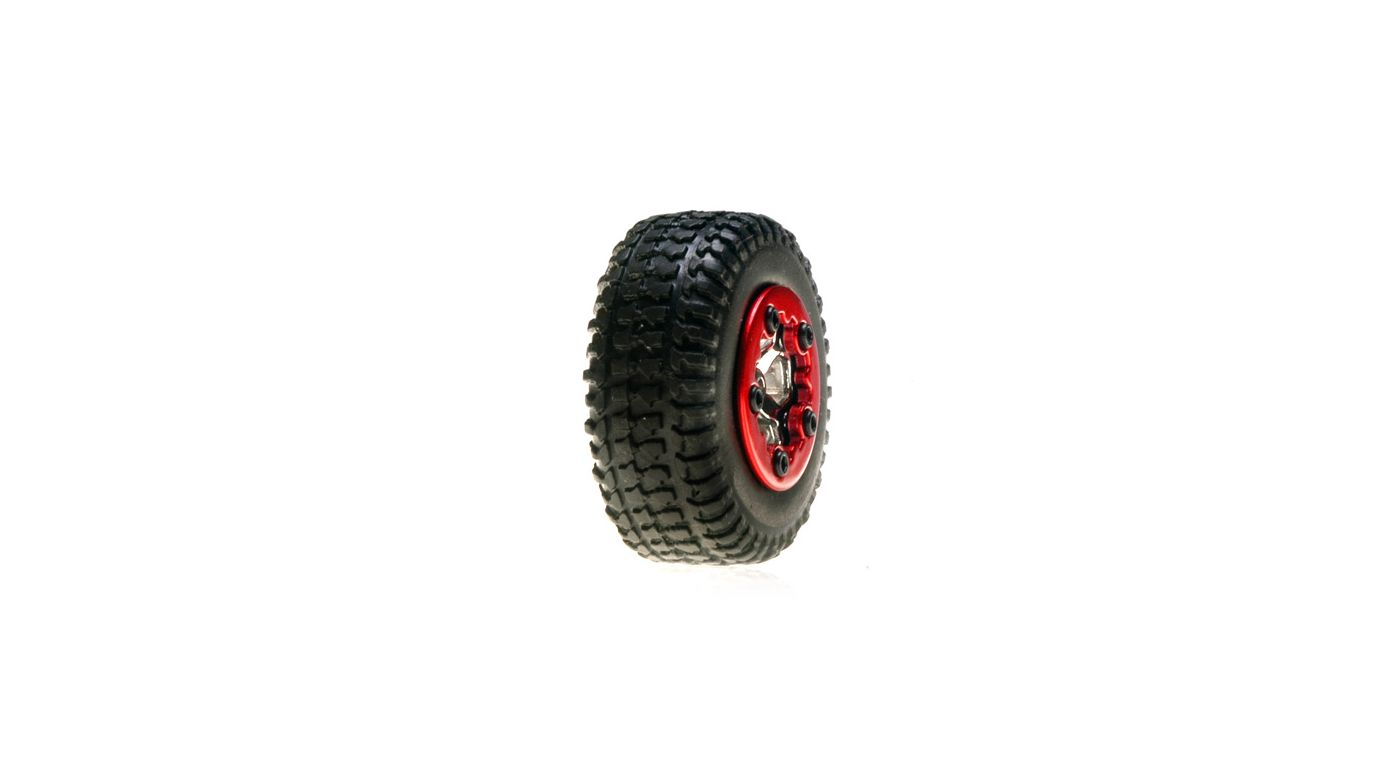 Image for Tires, Mounted, Chrome: Micro SCT(4) from HorizonHobby