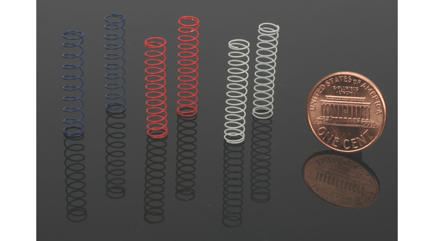 Image for Rear Shock Spring Set (3Pr): Micro from HorizonHobby
