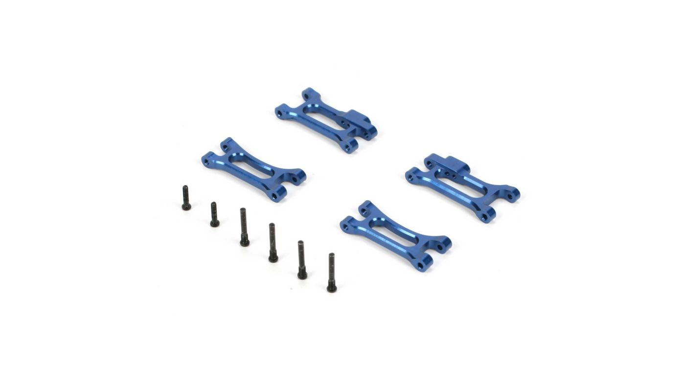 Image for Front Arm Set, Aluminum: Micro 4WD, Rally,Truggy from HorizonHobby