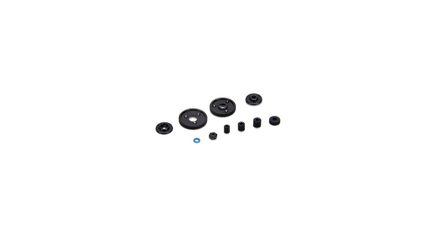 Image for Ctr Transmission Gear Set, Slipper & Pinions: McRC from HorizonHobby