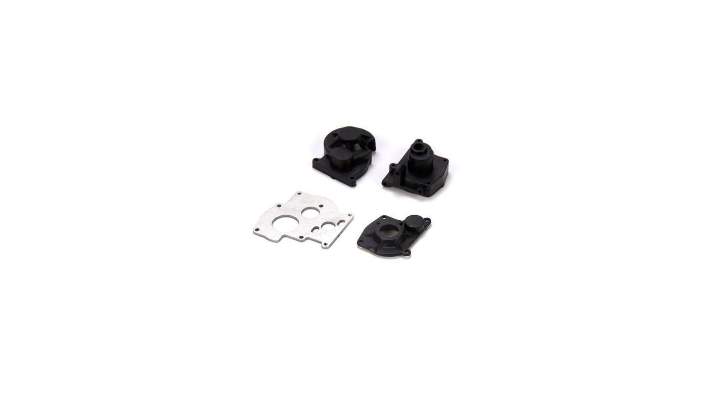 Image for Center Transmission Case and Motor Plate Set: McRC from HorizonHobby