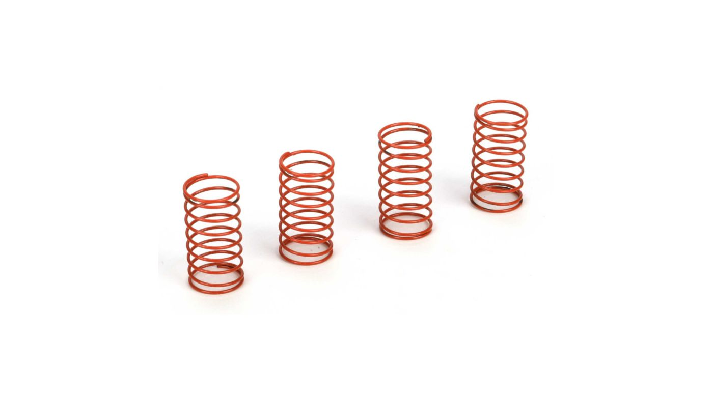 Image for Damper Spring,Medium(4):Micro SCT, Rally, Truggy from HorizonHobby