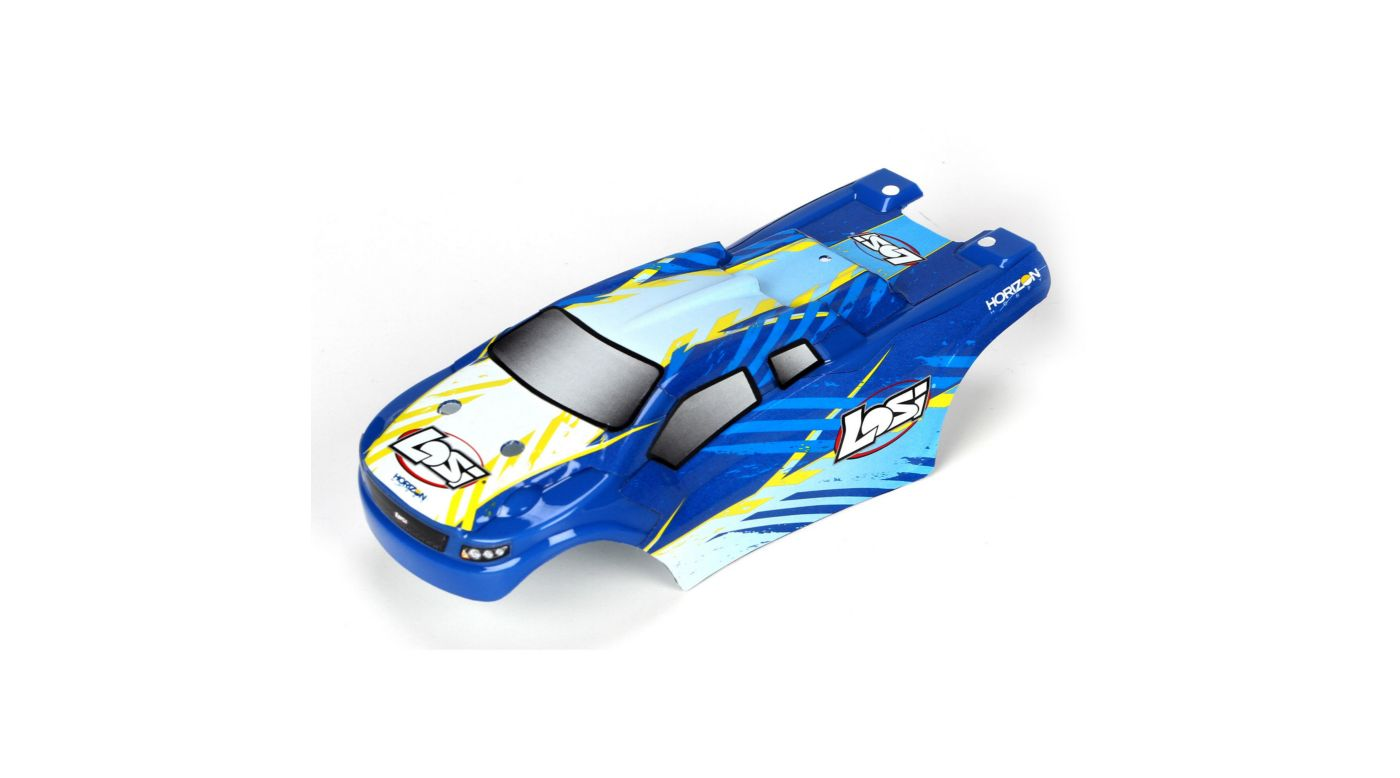 Image for Body Set, Painted Blue: Micro Truggy from HorizonHobby