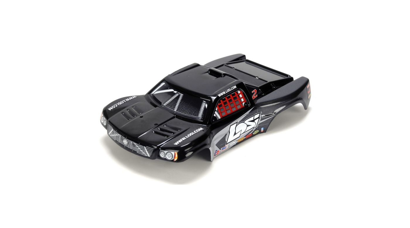 Image for 1/24 4WD Micro SCT Painted Body, Black from HorizonHobby