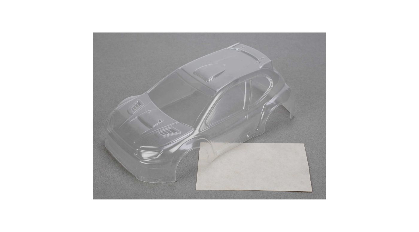 Image for Micro Rally Body, Clear from HorizonHobby