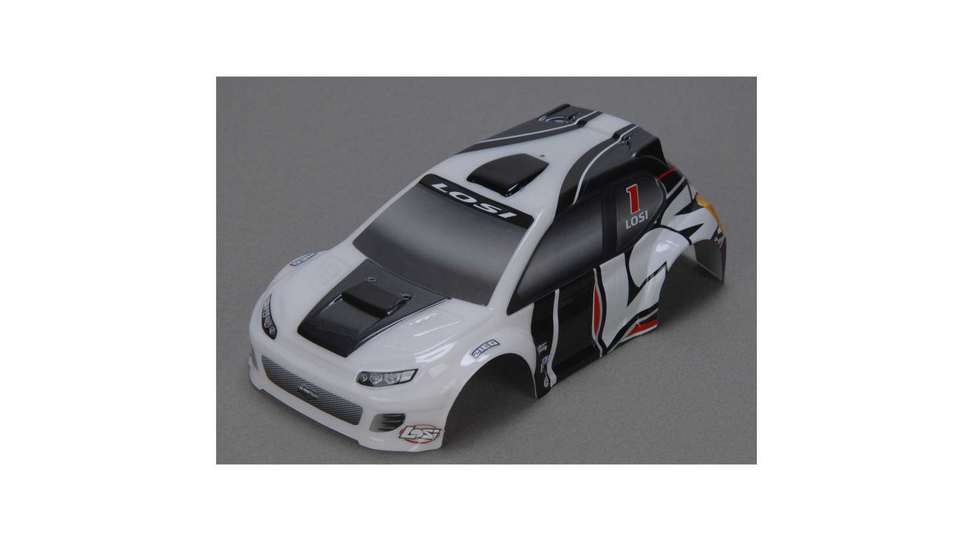 Image for 1/24 4WD Rally Painted Body, Gray from HorizonHobby