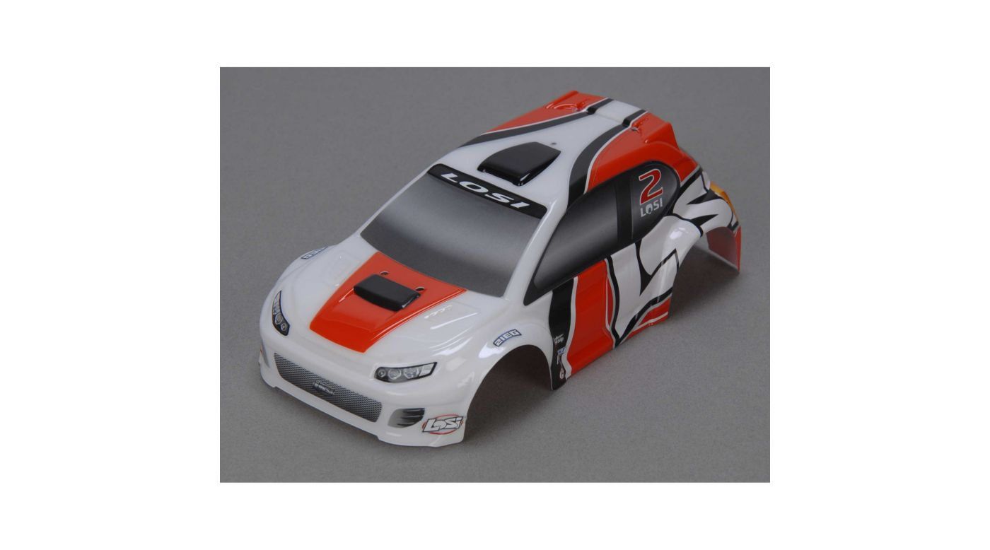 Image for 1/24 4WD Rally Painted Body, Orange from HorizonHobby