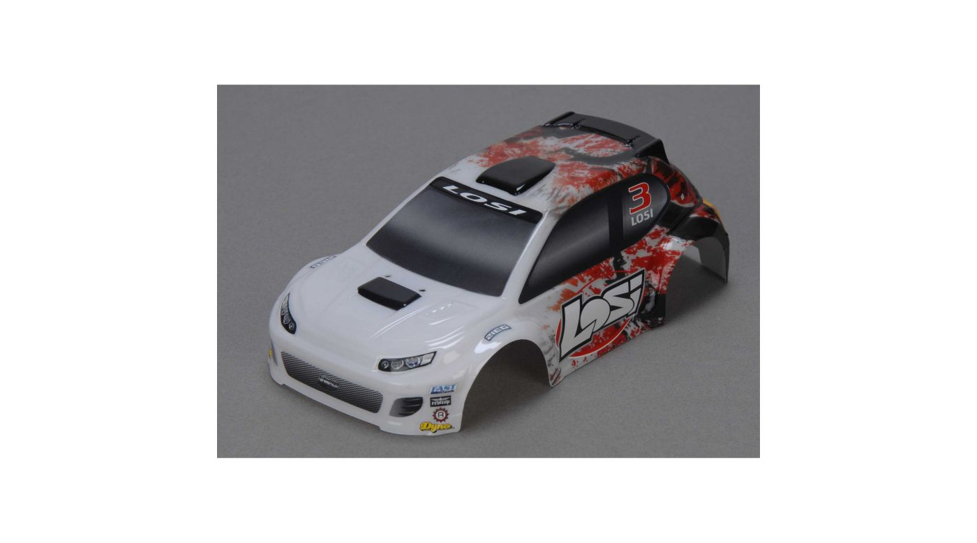 Image for 1/24 4WD Rally Painted Body, Red from HorizonHobby