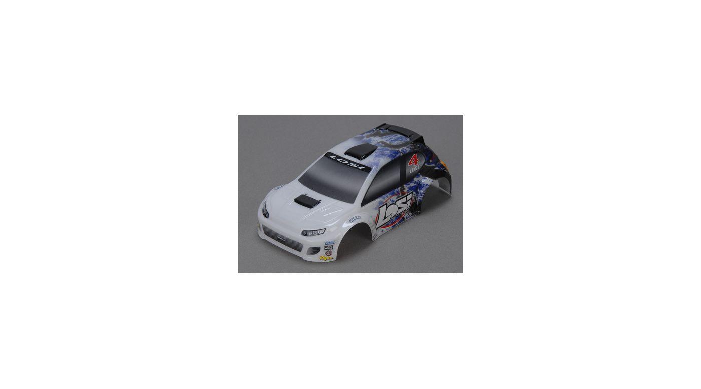Image for 1/24 4WD Rally Painted Body, Blue from HorizonHobby