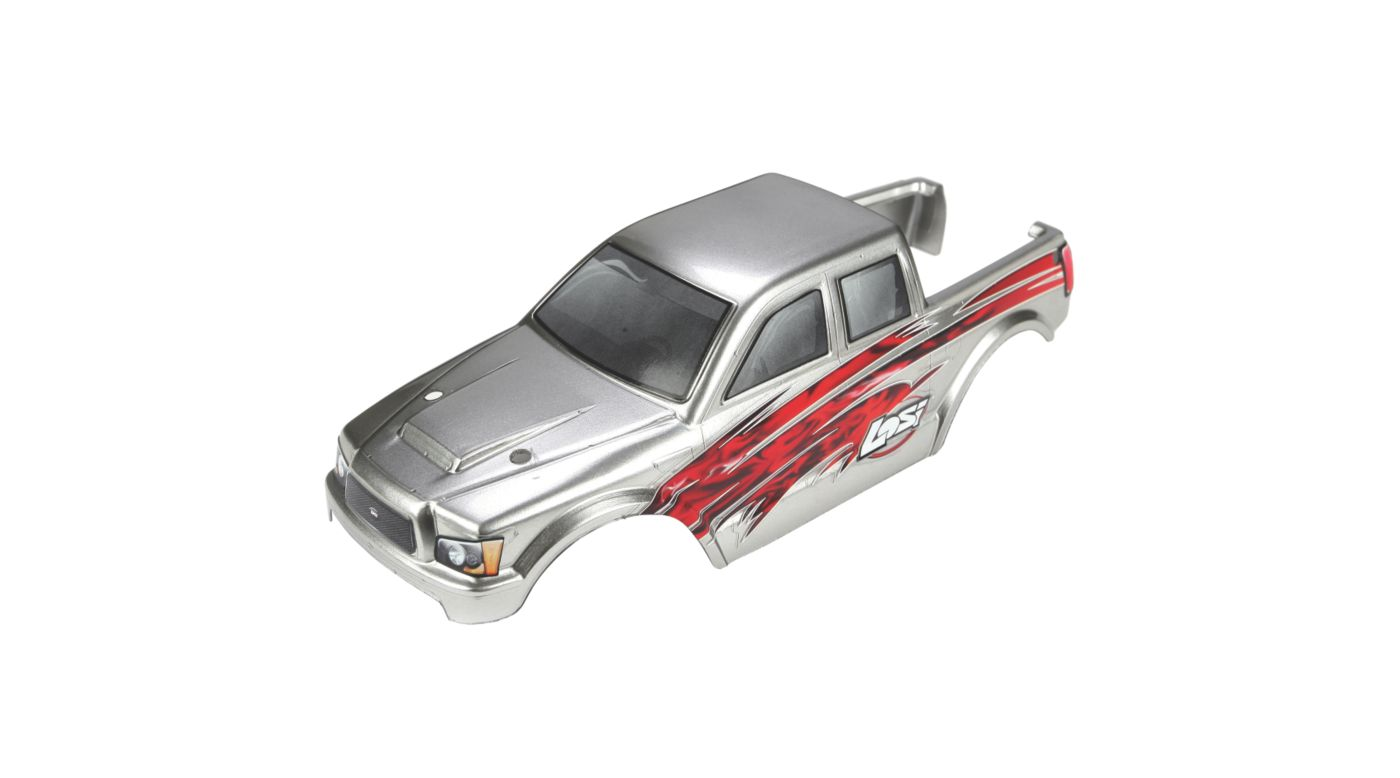 Image for Micro 4x4 Painted Body, Silver from HorizonHobby