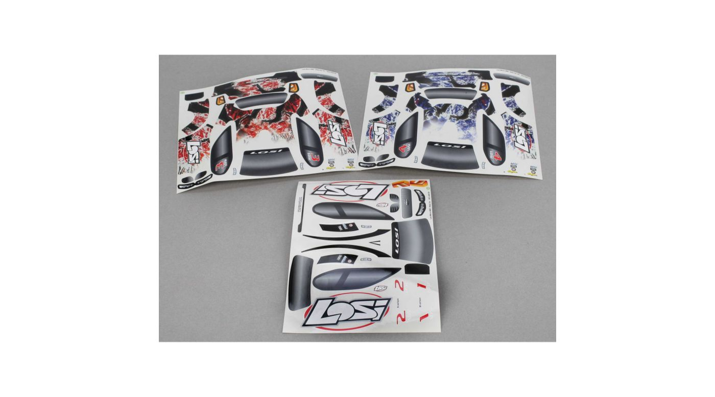Image for Micro Rally Sticker Set from HorizonHobby