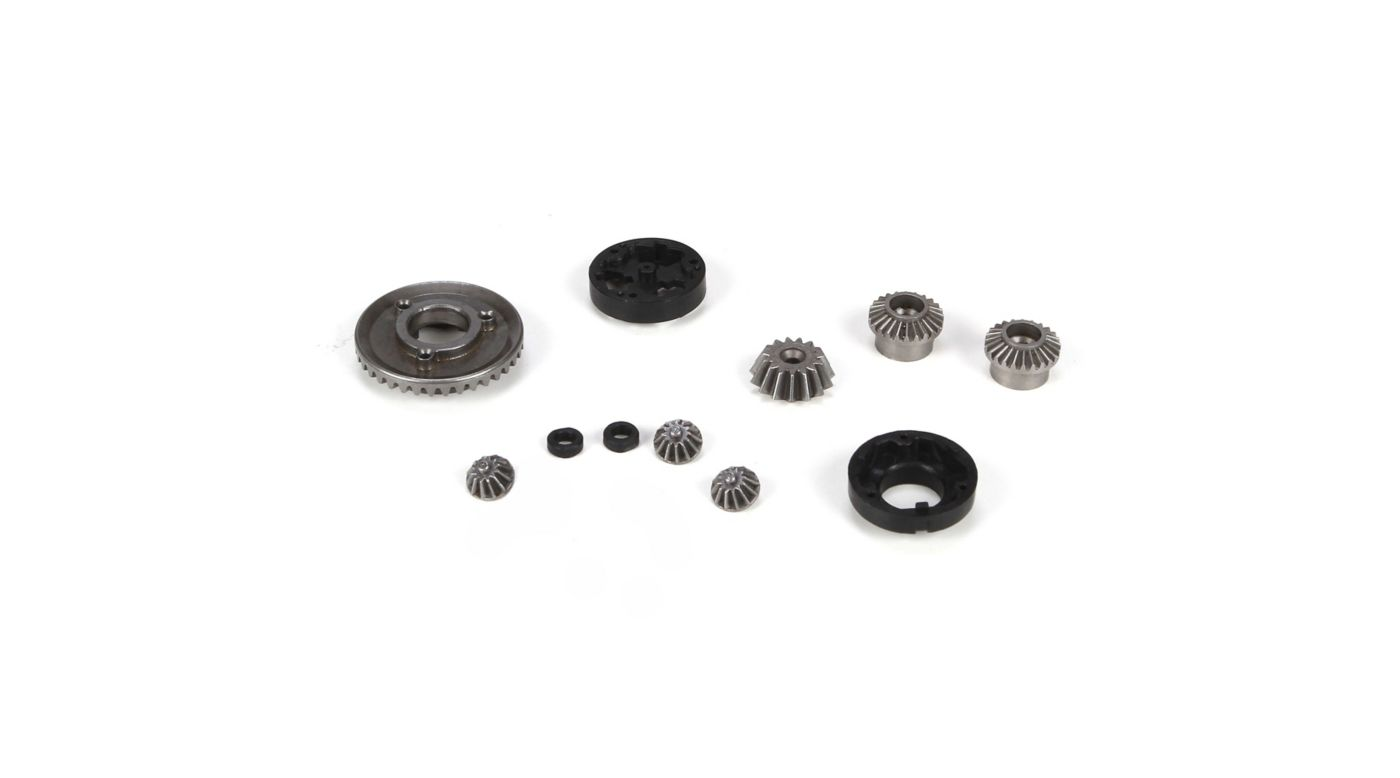 Image for F/R Diff Gear, Housing & Spacer Set: Mini 8IGHT from HorizonHobby
