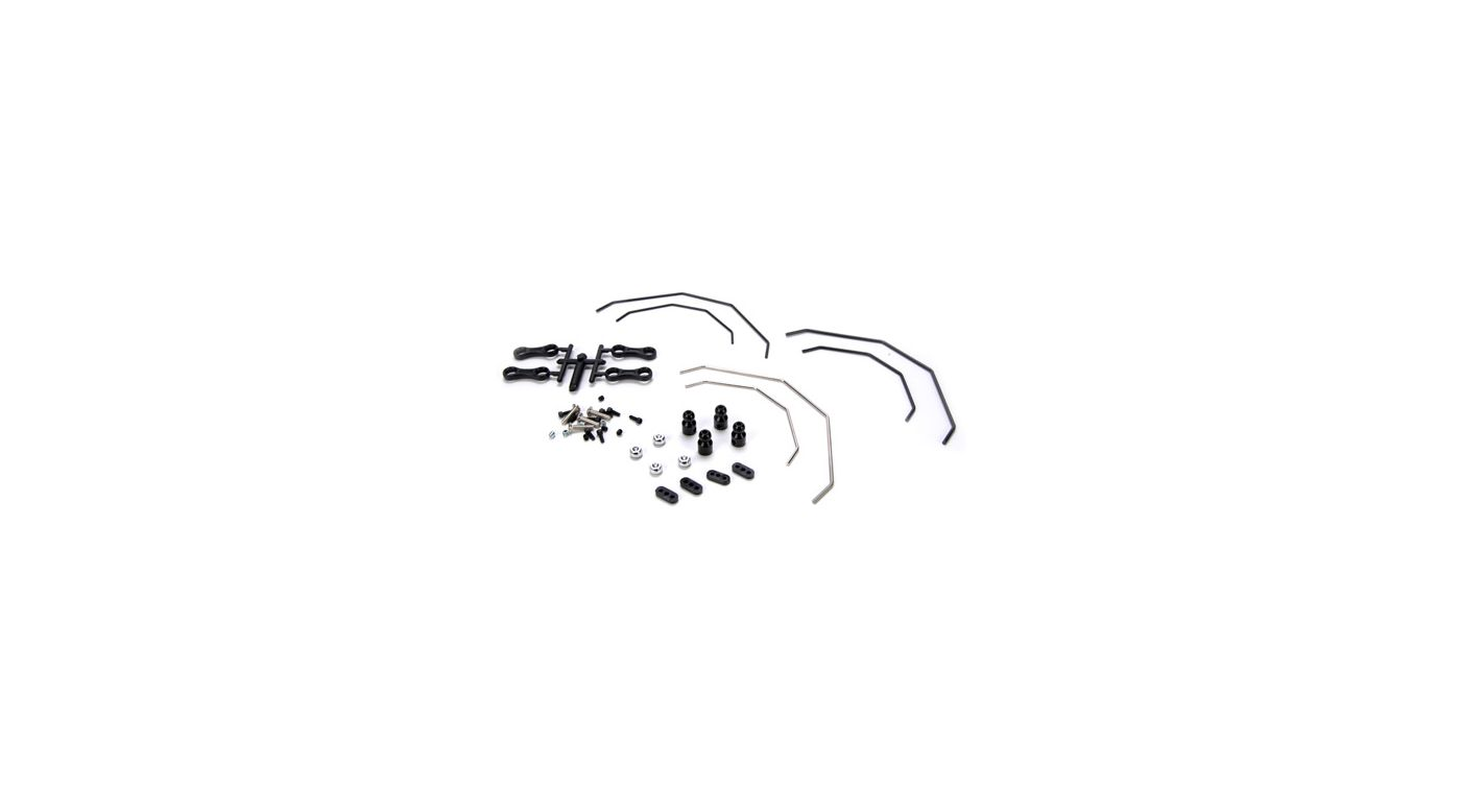 Image for Front/Rear Sway Bar Kit: 10-T from HorizonHobby