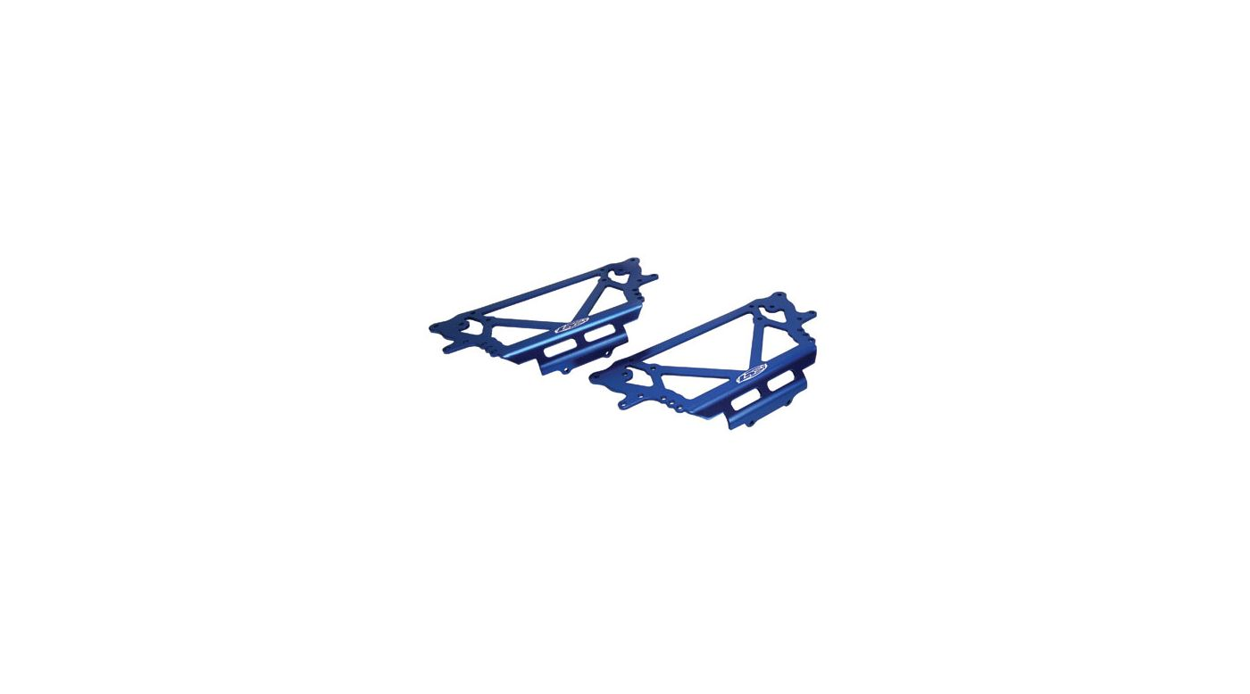 Image for Chassis Plate Set, Blue: NCR from HorizonHobby
