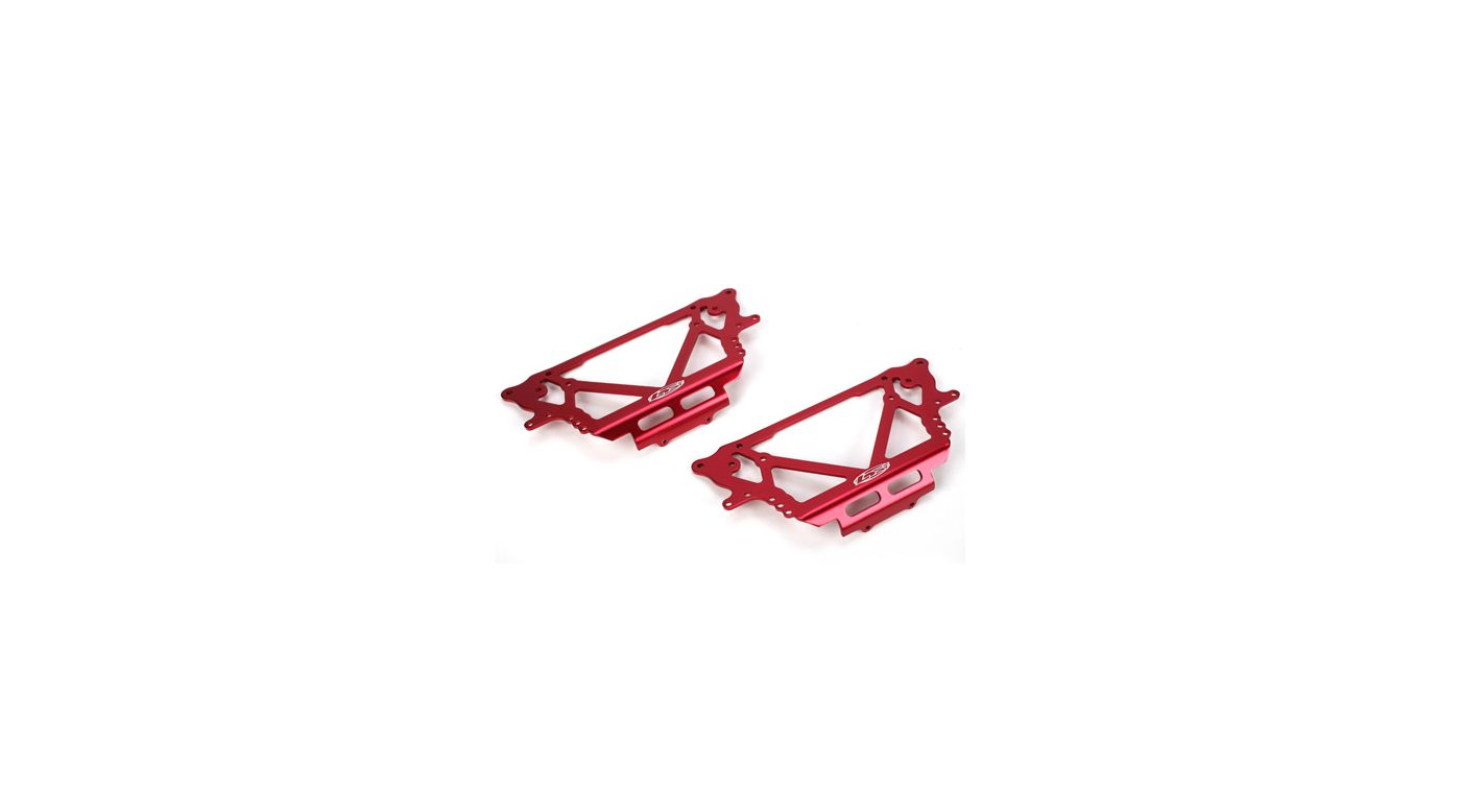 Image for Chassis Plate Set, Red: NCR from HorizonHobby