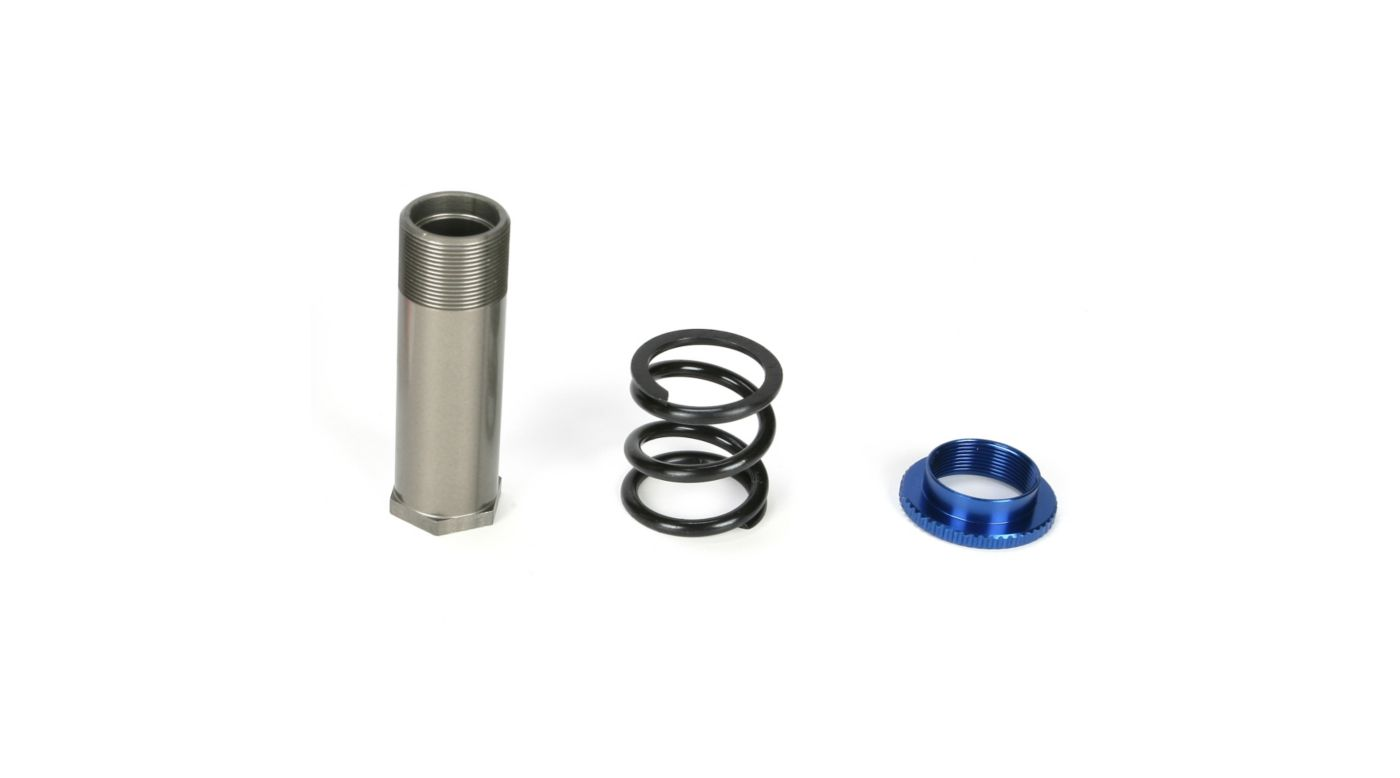 Image for Servo Saver Tube, Spring & Adjuster: 5IVE-T, MINI WRC from HorizonHobby