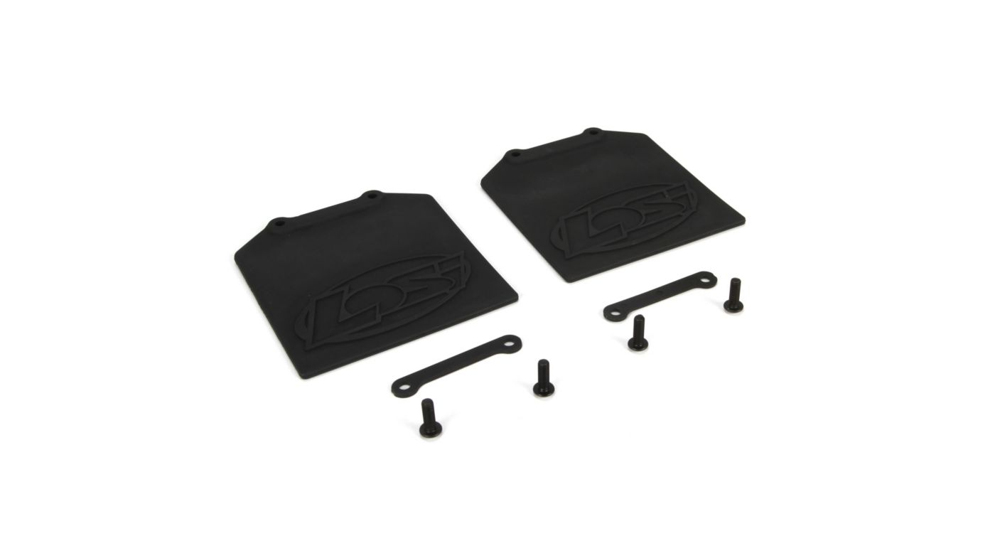 Image for Mud Flap & Retainer Set (2): 5IVE-T from HorizonHobby